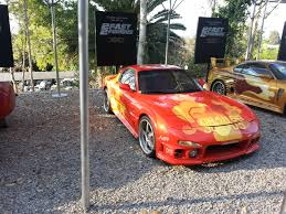 mazda rx7 fast and furious. mazda rx7 2 fast furious from universal studios and