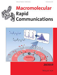 Macromolecular Rapid Communications : Vol 17 , <b>No 10</b>