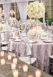 2016 silver lavender wedding reception decorations