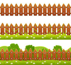 fences clip art. Plain Art Seamless Vector Fence Illustration Isolated On White Background With Fences Clip Art I