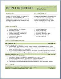 Resume Profile SummaryFree Professional Resume Templates Download Delectable Free Job Resume Kenicandlecomfortzone