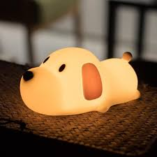 Amazon Child Night Light Amazon Com Aokarlia Children Night Light Led Silicone Dog