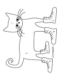 Pete The Cat Coloring Pages Greatest Page I Love My White Shoes Free