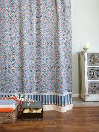 moroccan shower curtain tile print shower curtain blue shower curtain shower curtain saffron marigold moroccan shower moroccan shower curtain