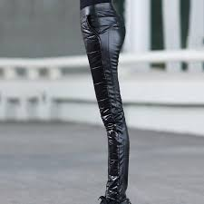 new brand fashion women motorcycle riding pants winter women leather pants patchwork women pants asia tag size m 2xl in pants capris from women s clothing