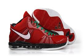 lebron 8 christmas. nike air max lebron 8 v2 christmas edition red lebron