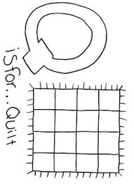 Q is for Quilt Letter Q Activity   Printable letters and Free ... & Free printable Alphabet coloring page Letter Q Adamdwight.com