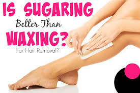 sugar vs waxing