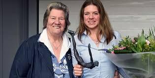 Sjoukje Dijkstra was 14 jaar toen ze meedeed aan de Winterspelen ...
