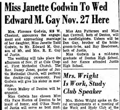 Janette Godwin - Newspapers.com