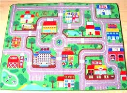 kids carpet road play rug car racing circuit urban traffic baby mats crawling ikea home