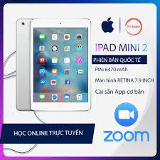 Máy tính bảng ipad mini 2 chính hãng Quốc tế bảo hành 6 tháng 1 đổi 1 trong  30 ngày tốt giá rẻ