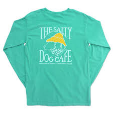 Comfort Colors Long Sleeve In Chalky Mint