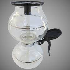 vintage cory coffe brewer vacuum carafe glass filter rod complete four parts rubberless diu dil
