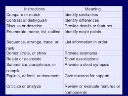 subjective test essay   distractions when marking 13 instructions compare or match contrast