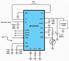 a designer s guide to lithium li ion battery charging digikey diagram of maxim integrated max8900 digi key scheme it