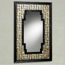 fantastic rectangular wall mirrors with black wooden frames as inspiring grey living space wall art ideas on rectangular wooden wall art with fantastic rectangular wall mirrors with black wooden frames as