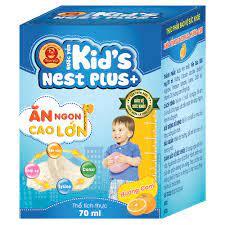 Nước Yến Sào Kid's Nest Plus+ Cho Bé từ 1 Tuổi