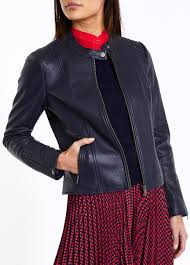 iman leather jacket