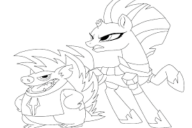 My Little Pony Sea Ponies Coloring Pages Printable My Little Pony