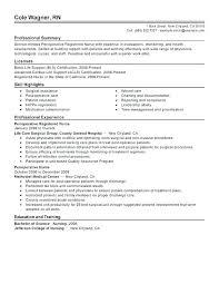 Sample Nursing Resume New Grad New Grad Nurse Resume New Grad ...