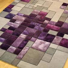 krenwik light gray purple area rug and bathroom rugs