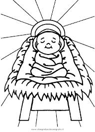 Disegno Bambino Gesu Personaggio Cartone Animato Da Colorare