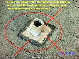 plumbing roof vent. Leaking Roof Vent Conservatory Flashing Roofing Around Pipes Improperly Installed Plumbing Is A Common Point On