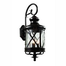 bel air lighting carriage house 4 light outdoor oiled bronze coach lantern with seeded glass