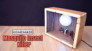 Diy Light Trap How To Make A Mosquito Insect Trap Lamp From Scrap