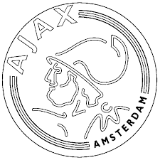 Voetbal Kleurplaat Logo Eredivisie Voetbalclub Nederland Logo
