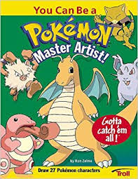 you can be a pokemon master artist how to draw zalme 9780816768585 amazon books