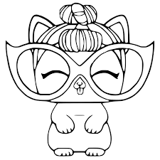 Lol surprise dolls are not only fun to play with, but also color! 20 Free Printable Lol Surprise Pets Coloring Pages Coloring Junction