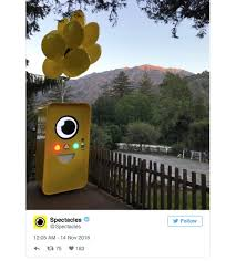 Snapchat Glasses Vending Machine Gorgeous Snapchat Spectacles Vending Machine Is Now In Big Sur California