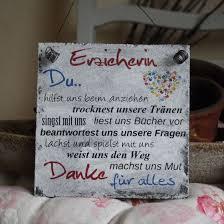 Shabby Schild Erzieherin Kindergarten Geschenk Sprüche