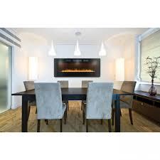 napoleon azure efl50h 50 electric fireplace w glass