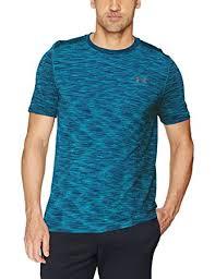 under armour threadborne. under armour men\u0027s threadborne seamless t-shirt, bayou blue/graphite, xxx-