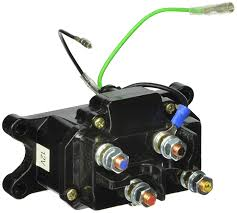 amazon com kfi products atv cont replacement winch contactor atv winch contactor wiring diagram at Atv Winch Solenoid Wiring Diagram
