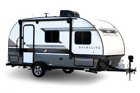 home travel trailers satellite