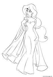 Small Picture Jasmine In Wedding Dress Disney Princess S6993 Coloring Pages