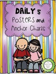 Daily 5 Anchor Charts 2nd Grade Daily 5 Poster Worksheets Teachers Pay Teachers