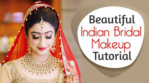 beautiful indian bridal makeup tutorial glittery eye makeup for indian brides krushhh by konica