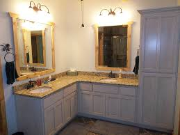 Distressed Bathroom Cabinet Distressed Black Bathroom Cabinets Great Homely Ideas Country