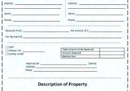 Office Invoice Rent Receipt Template Microsoft Office Ms Word Rental Invoice