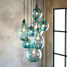 colored glass pendant lighting ing