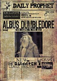 Harry Potter Newspaper Template Tons Of Printables And Diys For A Harry Potter Party Tons