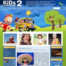 Free Templates For Kids Download Free Dd Kids School 2 Joomla Template