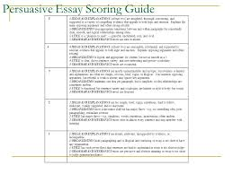 th grade persuasive writing ppt video online persuasive essay scoring guide