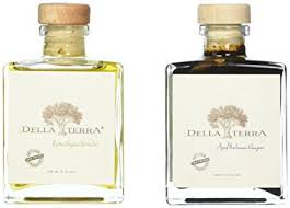 della terra gourmet gift set includes extra virgin olive oil and cask 25 yr aged