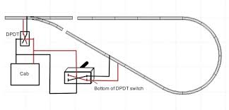 model railroad wiring wiring for model railroad track reversing loop